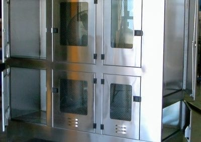 Stainless Pass Through Cabinet
