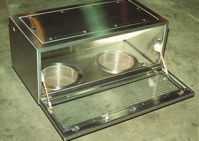Gas Box with Glass Door