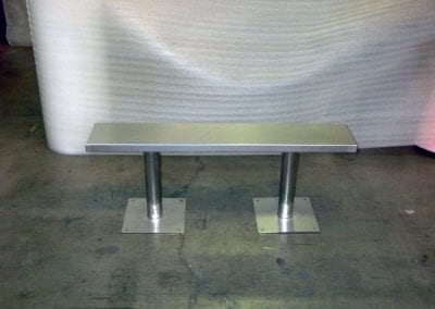 Custom Bench for Clean Room