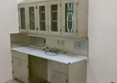 Custom Stainless Medical Cabinets