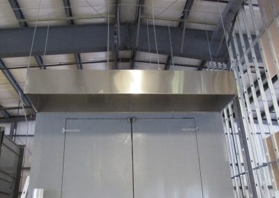 Large Commercial Exhaust Hood